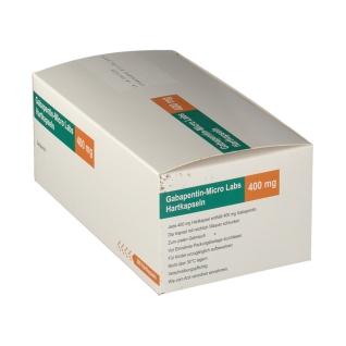 GABAPENTIN Micro Labs 400 mg Hartkapseln