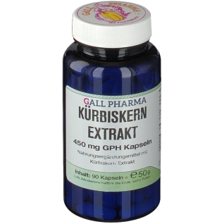 GALL PHARMA Kürbiskern Extrakt 450 mg GPH