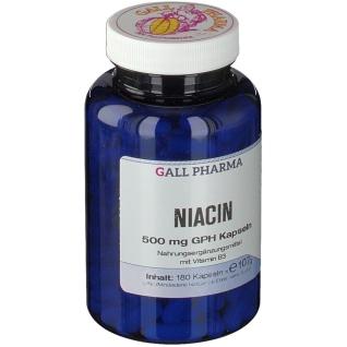 GALL PHARMA Niacin 500 mg GPH Kapseln