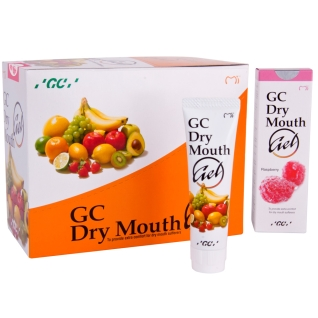 GC Dry Mouth Gel Himbeere