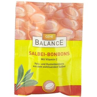 GEHE BALANCE Salbei Bonbons
