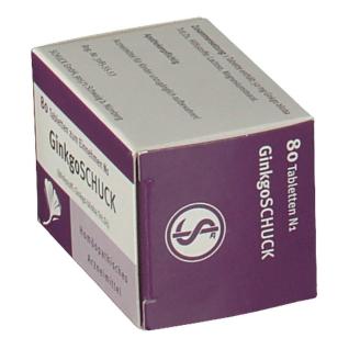 GinkgoSchuck Tabletten