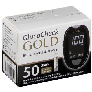 GlucoCheck GOLD Blutzuckerteststreifen