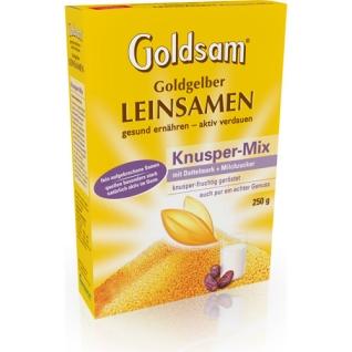 Goldsam Leinsamen Knusper Mix