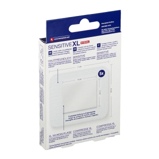 Hansaplast Sensitive XL Pflaster 6 x 7 cm