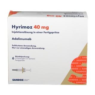 HYRIMOZ 40 mg/0,8 ml Inj.-Lösung i.e.Fertigspritze