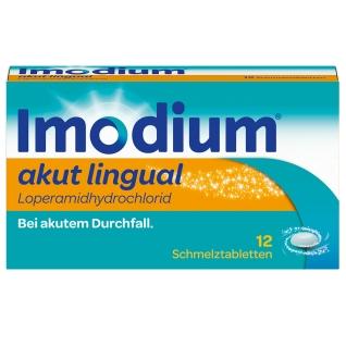 Reiseapotheke China Imodium akut lingual blaue Verpackung