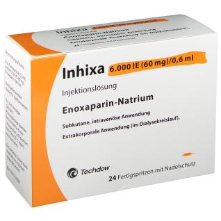 INHIXA 6.000 I.E. 60 mg/0,6 ml ILO F.Sp.+Sich-Sys.