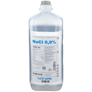 Isotonische Kochsalzlösung 0,9 % Ecoflac Plus