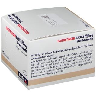 ISOTRETINOIN BASICS 20 mg Weichkapseln