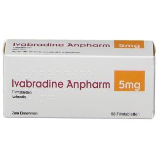 IVABRADINE Anpharm 5 mg Filmtabletten