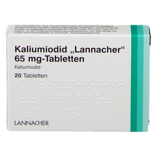 Kaliumiodid Lannacher 65 mg