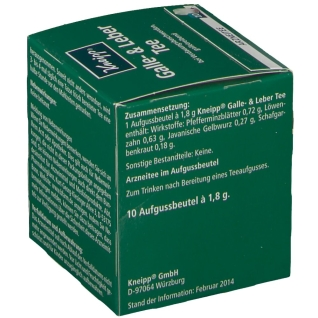 Kneipp® Galle- & Leber Tee