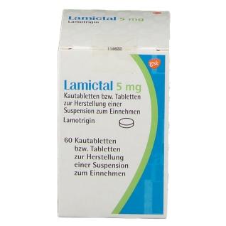 LAMICTAL 5 mg Tabl.z.Herst.e.Susp.z.Einnehmen