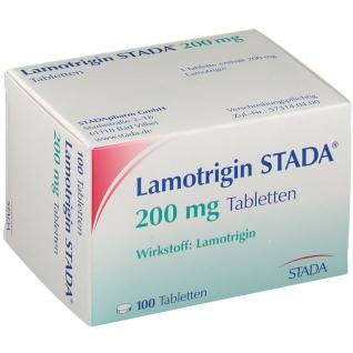 LAMOTRIGIN STADA 200 mg Tabletten