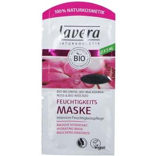 lavera Feuchtigkeits Maske Bio-Wildrose