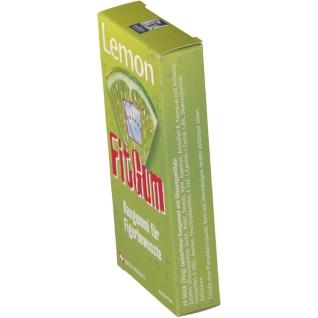 Lemon FitGum mit L-Carnitin