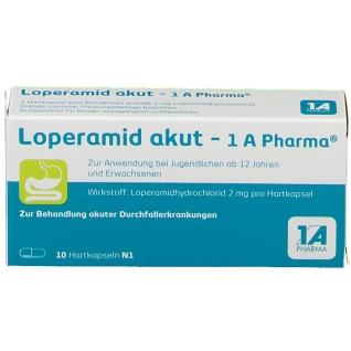 Loperamid akut - 1A Pharma®