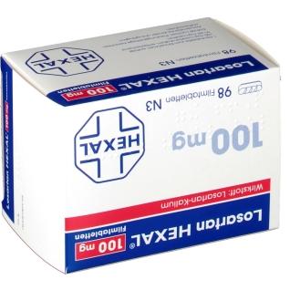 Losartan Hexal 100 mg Filmtabletten