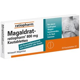 Magaldrat-ratiopharm® 800 mg Kautabletten