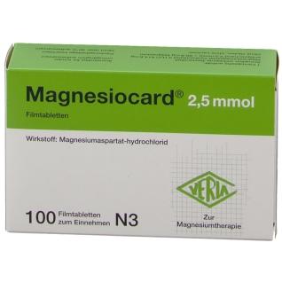 Magnesiocard® 2,5 mmol
