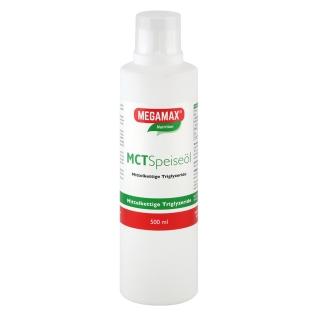 Megamax® Natrition MCT Speiseöl mittelkettige Triglyzeride