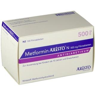 METFORMIN ARISTO N 500MG