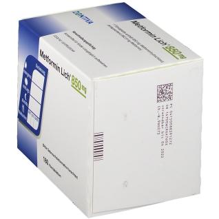 METFORMIN Lich 850 mg