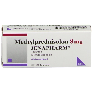 Methylprednisolon 8 mg Jenapharm Tabl.