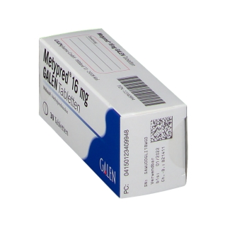 METYPRED 16 mg GALEN Tabletten