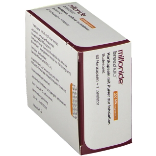 MIFLONIDE Breezhaler 200 µg Hartkps.m.Plv.z.Inhal.
