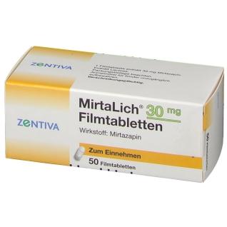 MIRTALICH 30 mg Filmtabletten