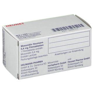 MOXONIDIN Heumann 0,4 mg