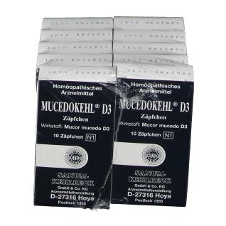 Mucedokehl® D3 Suppositorien