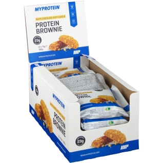 MyProtein Protein Brownie, White Chocolate Chip