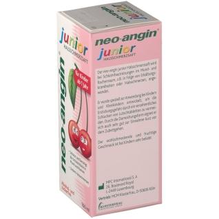 neo-angin® junior Halsschmerzsaft