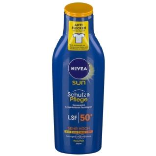 NIVEA® SUN Pflegende Sonnenmilch LSF 50+