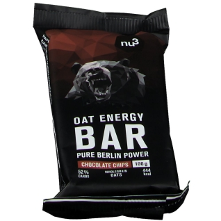 nu3 Oat Energy Bar Chocolate Chips - Energieriegel