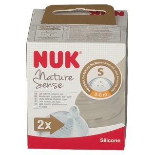 NUK® Nature Sense Trinksauger Größe 0 bis 6 Monaten S