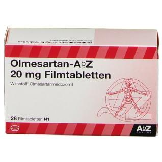 OLMESARTAN AbZ 20 mg Filmtabletten