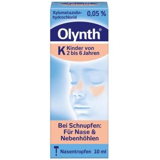 Olynth® 0,05% Nasentropfen für Kinder