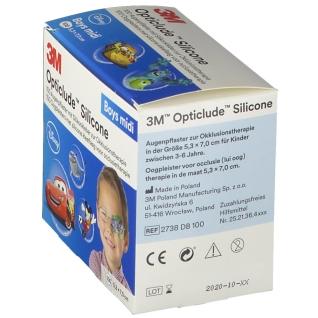 Opticlude 3M Silicone Boys midi 5,3 cm x 7 cm