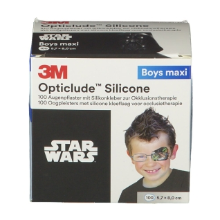 Opticlude 3M Silicone Disney Boys maxi 5,7 cm x 8 cm