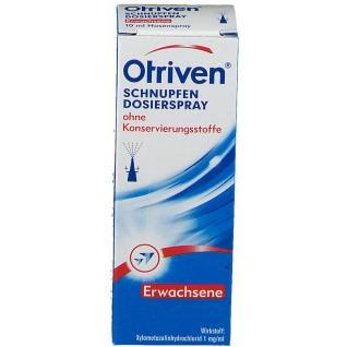 Otriven® 0,1% Dosierspray ohne Konservierungsstoffe