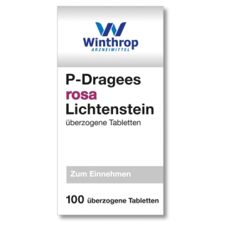 P-Dragees rosa Lichtenstein