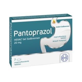 Pantoprazol HEXAL® Tabletten bei Sodbrennen