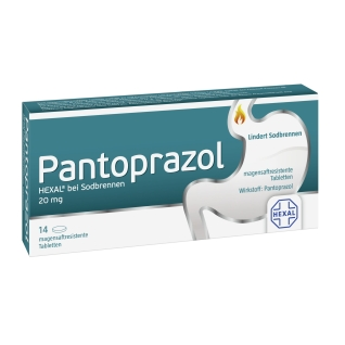 Pantoprazol HEXAL®Tabletten bei Sodbrennen