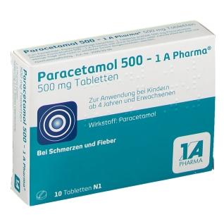 Paracetamol 500 mg - 1A-Pharma®