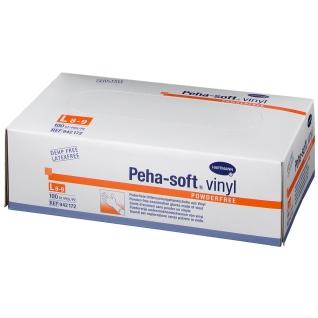 Peha-soft® vinyl powderfree Untersuchungshandschuh Gr. L 8 - 9