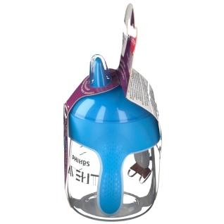 Philips® AVENT Becher mit Trinkschnabel blau 260 ml